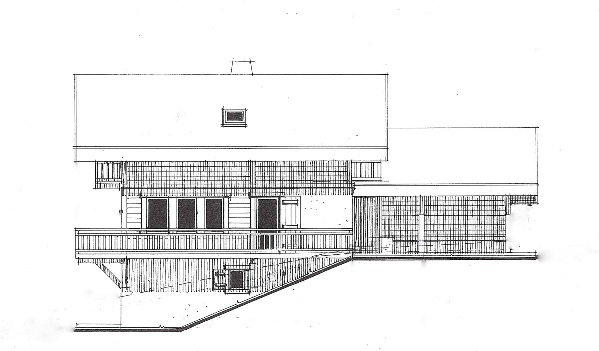 chalet apassion architect plans chalet apassion in samoens architect drawing of west f