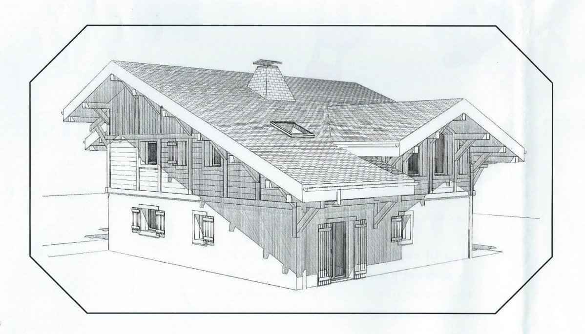 chalet allure architect plans chalet apassion in samoens front and side of chalet allure